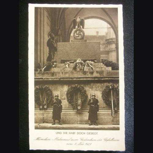 Munich Feldherrnhalle Postcard # 3221
