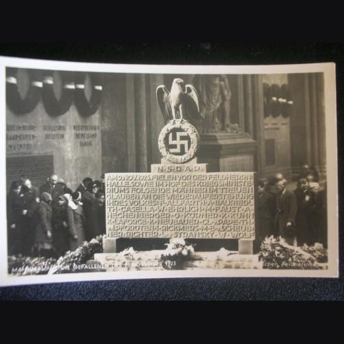 Munich Feldherrnhalle Postcard # 3222