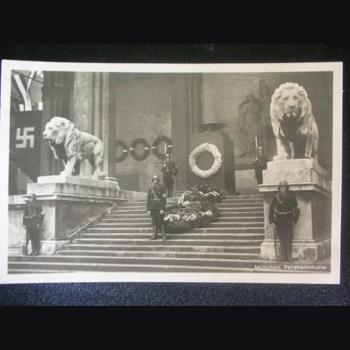 Munich Feldherrnhalle Postcard # 3226