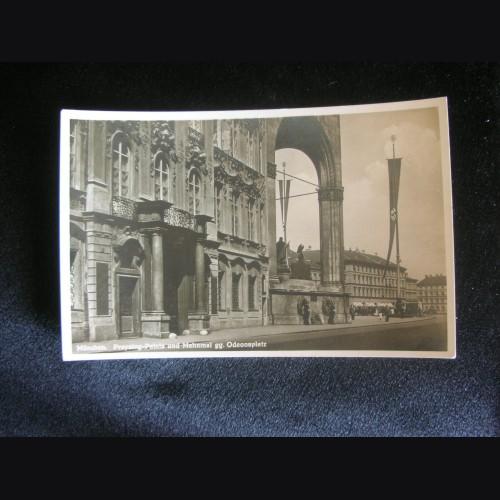 Munich Feldherrnhalle Postcard # 3235