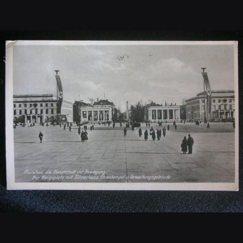 Munich Konigsplatz Postcard # 3239