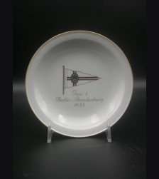 Meissen D.D.A.C. Plate- Brandenburg 1935 # 3061
