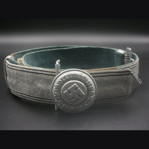 SS/ Polizei Brocade Belt  # 3178