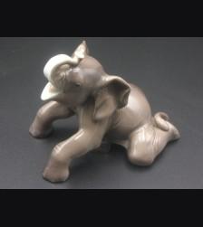 Allach Porcelain #4 Colored Elephant # 3257
