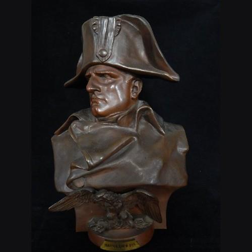 Renzo Colombo Napoleon- Bronze Bust 1885 # 3132