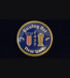 American Bund Gautag 1937 New York Badge # 3078