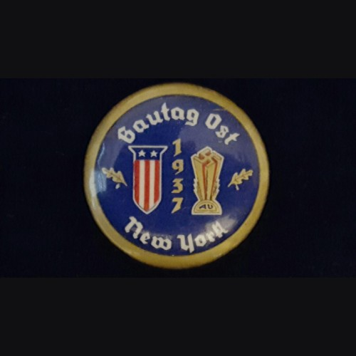 American Bund Gautag 1937 New York Badge