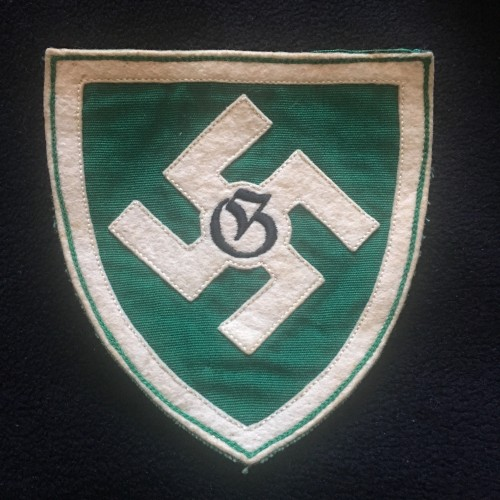 Regiment Hermann Goring Sport Shirt Insignia # 3036