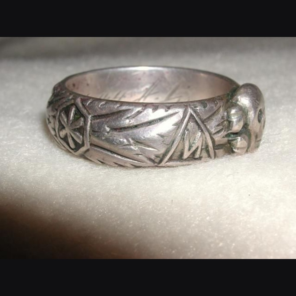 The Ss Honor Ring Der Totenkopf 671