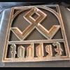 Erbhof Wrought Iron Hereditary Sign # 946