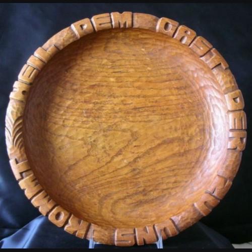 SS Bread Plate   # 1007