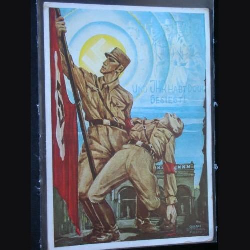 Feldherrnhalle Commemorative Postcard  # 1016