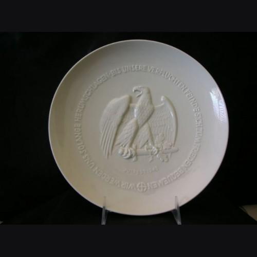 Allach Himmler Juhlfest Presentation Plate # 1018