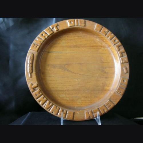 SS Bread Plate  # 1027