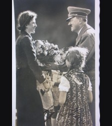 Adolf Hitler Signed Picture Postcard ( Hoffmann ) # 1050