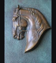 Bronze Horse Relief ( Prof. Theodore Karner ) # 1054