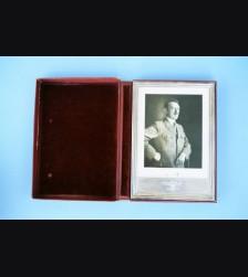 Adolf Hitler Presentation Frame & Photo ( FHW ) # 1069
