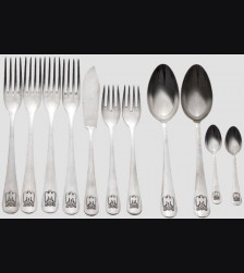 Adolf Hitler Informal Silverware  # 1072