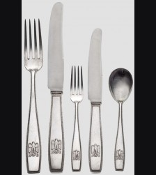 Adolf Hitler Formal Silverware # 1073
