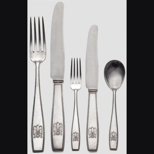 Adolf Hitler Formal Silverware # 1073