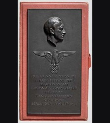 Arno Breker Chancellery Presentation Plaque # 1080