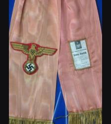 Hitler Funeral Sash- Framed # 1085