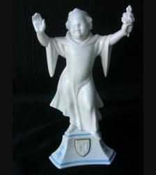 Allach Porcelain Munich Maiden-( 1st Place Flower Competition Prize ) # 1096