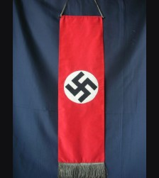 NSDAP Streamer- Chain Stitch # 1111