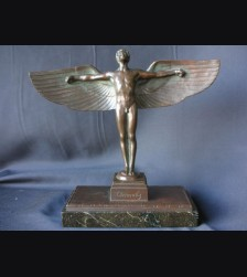 Bronze Icarus Dedicated 1925 ( Peter Breuer ) # 1113