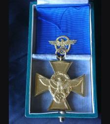 Deutsches Polizei 25 Year Long Service Medal  # 1115