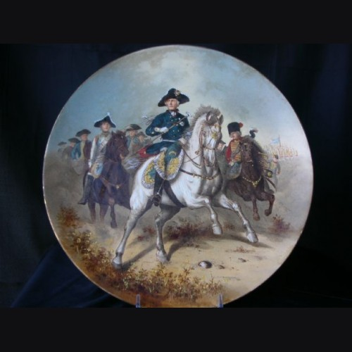 Frederick The Great Plate ( Alte Fritz ) # 1121