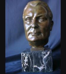 Hermann Goring Bronze Bust ( Gustav Adolf Hedblom ) # 1128