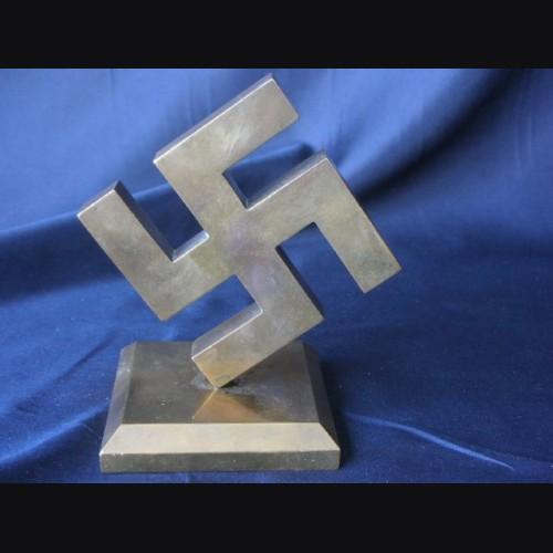 Solid Brass NSDAP Desk Piece # 1130