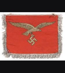 Luftwaffe Flak Regiment Trumpet Banner  # 1136