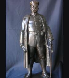 Bronze Field Marshal Paul von Hindenburg- Ludwig Manzel (1916) # 1144