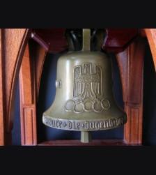 Bronze Olympic Bell 1936- Walter E. Lemcke # 1146