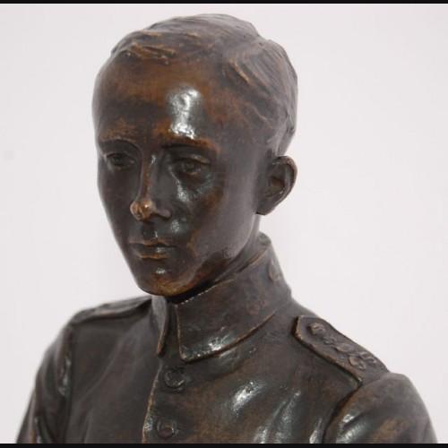 Bronze NCO Statue- Max Bezner 1920 # 1147