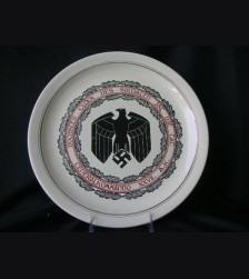 Wehrmacht Dedication Plate # 1155