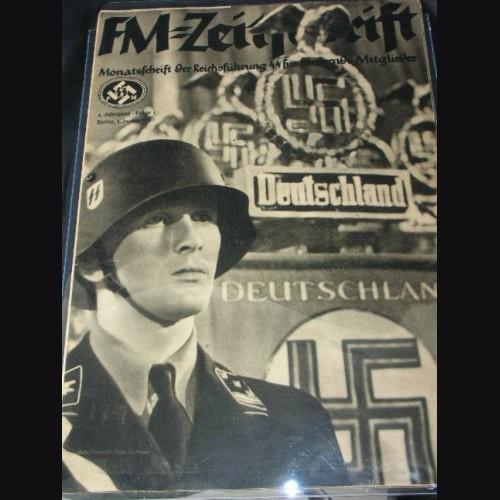 SS FM Zeitschrift Magazine January 1937 # 1193