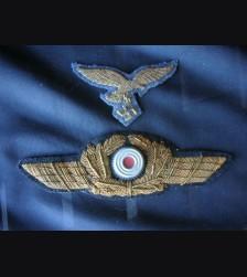 Luftwaffe General's Bullion Cap Eagle And Cockade  # 1225