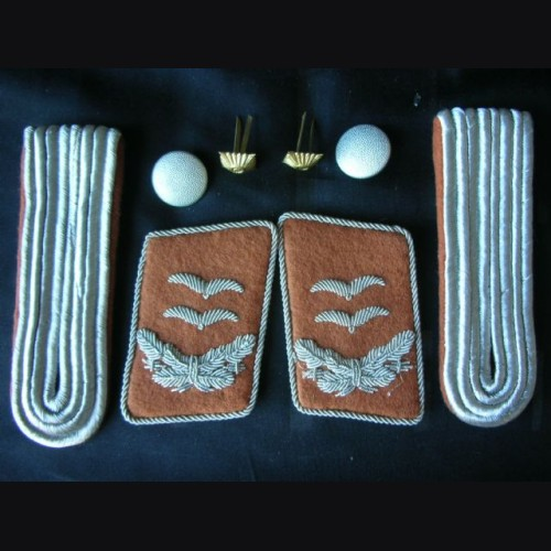 Luftwaffe Collar Tabs And Boards ( Oberleutnant ) Signals # 1288