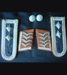 Luftwaffe Collar Tabs And Boards ( Oberfeldwebel ) Signals  # 1291