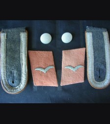 Luftwaffe Collar Tabs And Boards ( Unteroffzier ) Signals # 1297