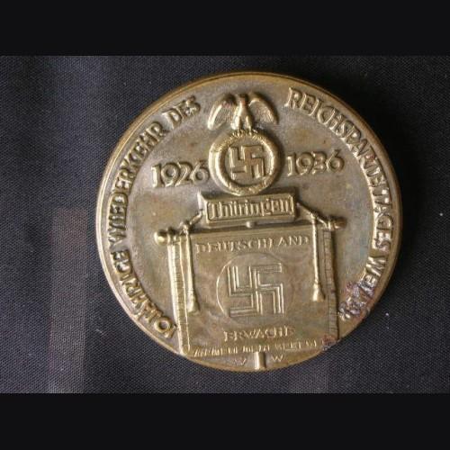 Deutschland Erwache Tinnie 1936 # 1308