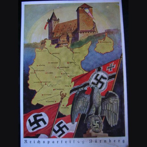 Nuremberg Party Rally Proof Card 1939 # 1323