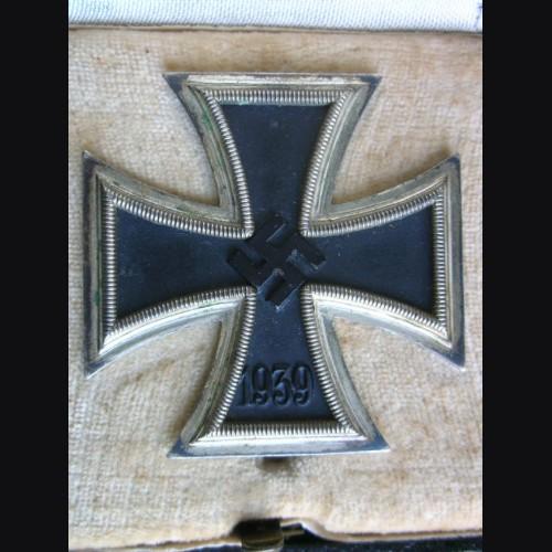 Iron Cross 1st Class Cased # 1334
