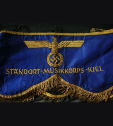 Kriegsmarine Drum Drape ( Kiel ) # 1394