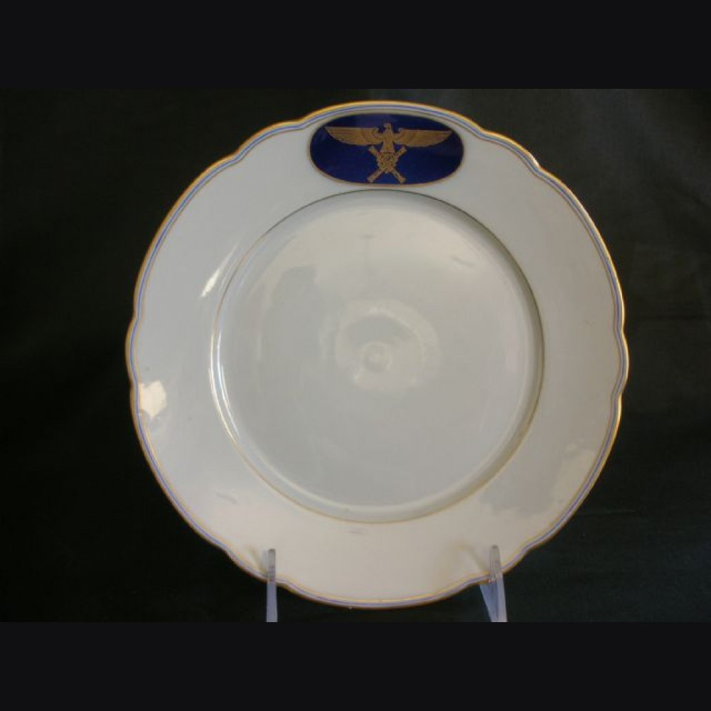Hermann Goring Formal Dinnerware- Serving Plate # 1408 & Hermann Goring Formal Dinnerware- Serving Plate
