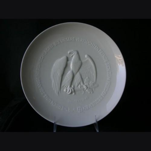 Allach 1943 Juhlfest Plate- Himmler Presentation # 1427
