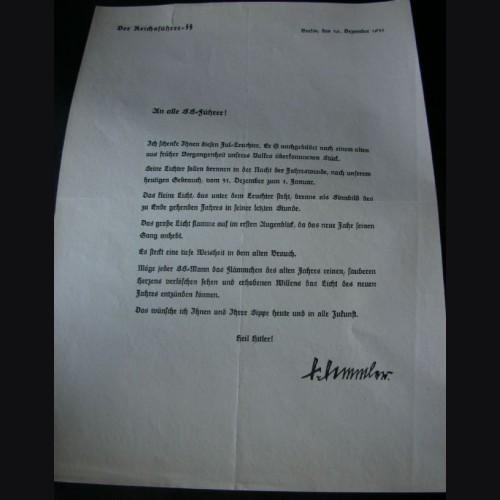 Julleuchter Document- 1935 # 1431